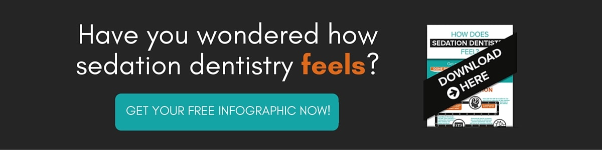 Have you ever wondered how sedation dentistry feels? Click here to download a free infographic.