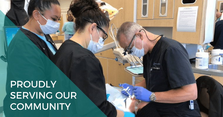 Your Burke VA dentist Dr. McMillan proudly served the Northern Virginia community at the Mission of Mercy free dental clinic