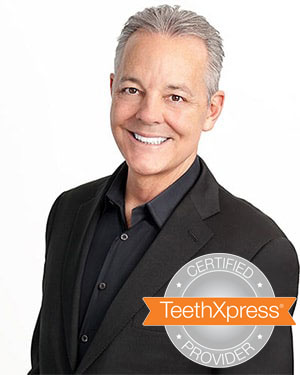 Dr. Alex McMillan a certified TeethXpress Provider